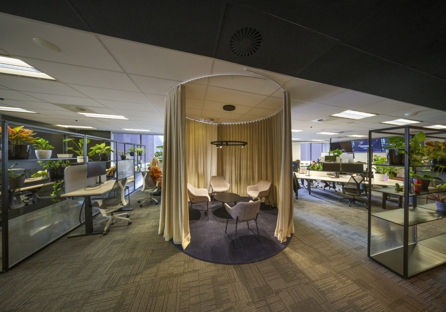 Whispir Office Fitout - Discussion Space
