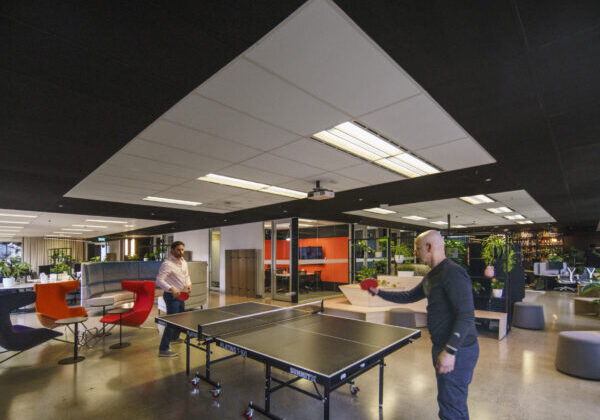 Whispir Office Fitout - Multipurpose space